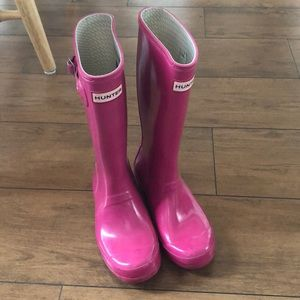 Other - Girls Hunter pink boots